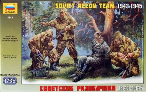 Soviet Recon Team 1943-1945 1/35