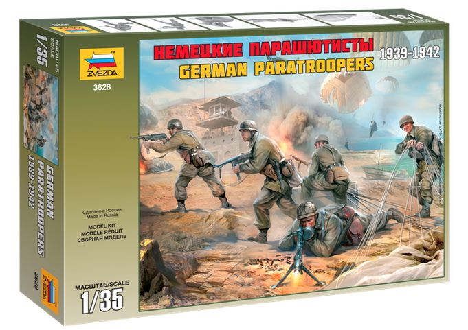 German Paratroopers 1939-1942 1/35