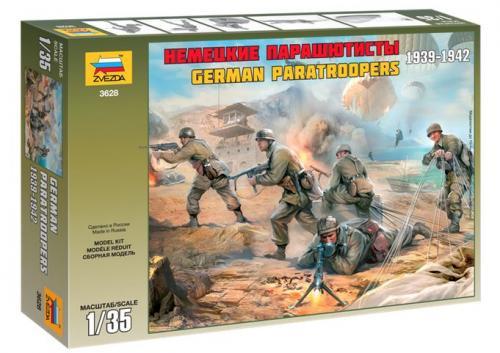 German Paratroopers 1939-1942 1/35