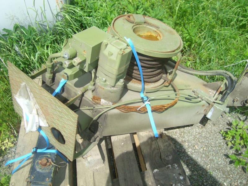 Beg hydraulisk winsch Sepson 24 volt 4 ton