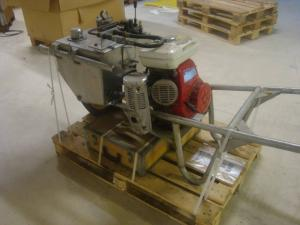 Bensinmotordrivet hydraulaggregat