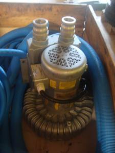 Elektrisk pump /fläkt