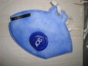 Andningsmask med utandningsventil