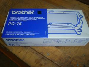 Printing cartridge brother PC-75