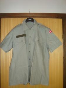 Skjorta kort arm Ny försvaret Nato