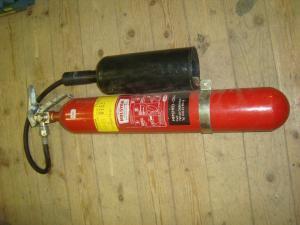 Brandsläckare Kolsyra