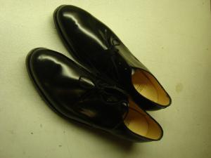 Permis skor svarta