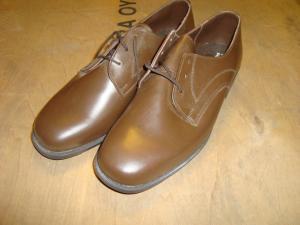 Permis skor bruna