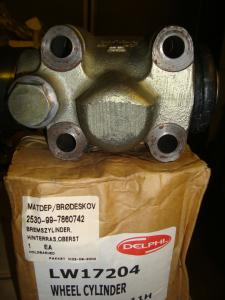 Delfi bromscylinder  passar bla. volvo nr 1517715   Delphi nr LW17204