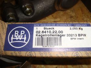Hjullager BPW  nr 33213