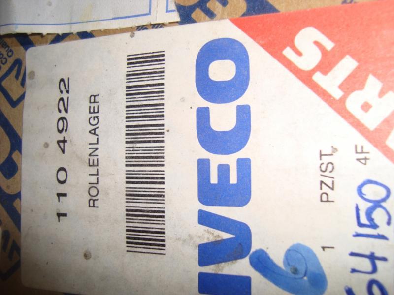 Iveco reservdelar  Hjullager Iveco nr 1104922  SKF nr VKHB2160