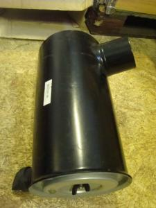 Luftfilter behållare komplett med nytt ytter o innerfilter! Slanganslutning 95mm