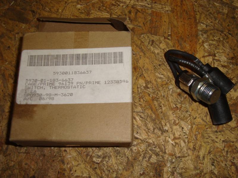 Hummer H1 reservdelar tempgivare! nr 5930-01-183-6637