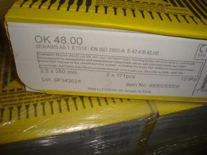 Esab Svetselektroder  ok 48.00 2,5 mm hylsa 1x 171st 4,3kg