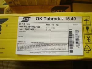 Esab tubrodur 15.40 1,6mm