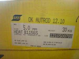 Esab Autorod 12.10  5,0mm 30 kg/rlr