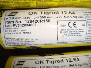 Esab Tigrod 12.64 2,0mm 5kg