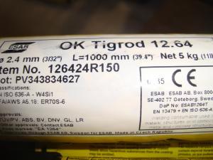 Esab Tigrod 12.64 2,4mm 5kg