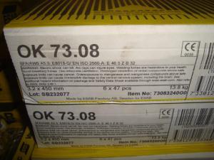 Esab Svetselektroder  ok 73.08 3,2 mm hel kartong 14kg