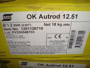 Esab Autorod 12.51 1,2mm 18 kgrlr