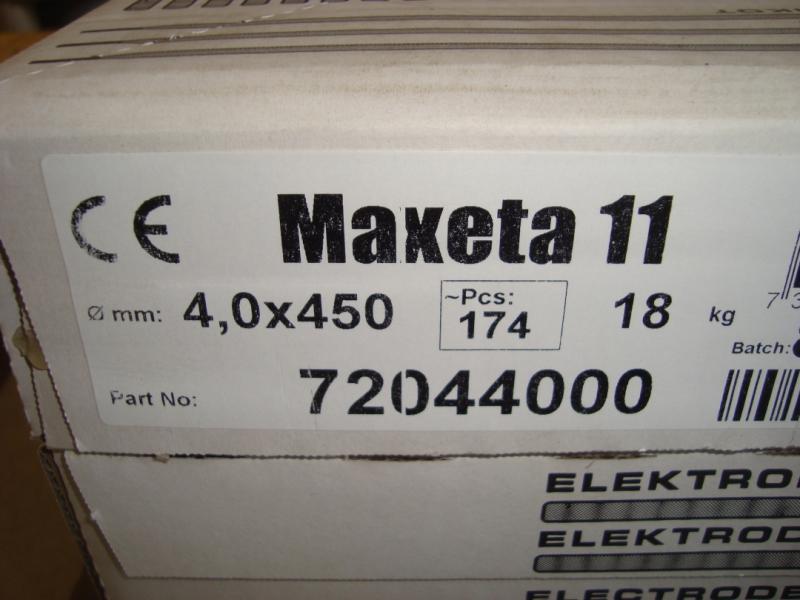 Elga maxeta 11 4,0mm låda 18 kg