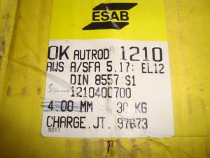 Esab Autorod 12.10  3,0mm 30 kg/rlr