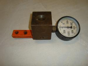 Manometer med kopplingsblock 600bar