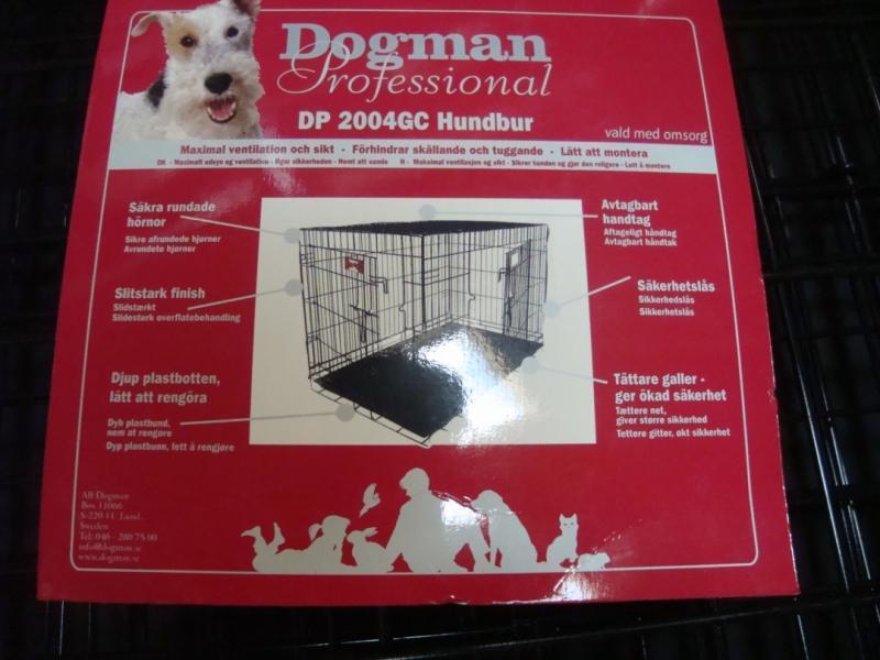 Dogman hundbur! Hundar upp till 45 kg