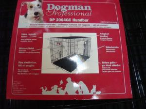 Dogman hundbur! Hundar upp till 35 kg