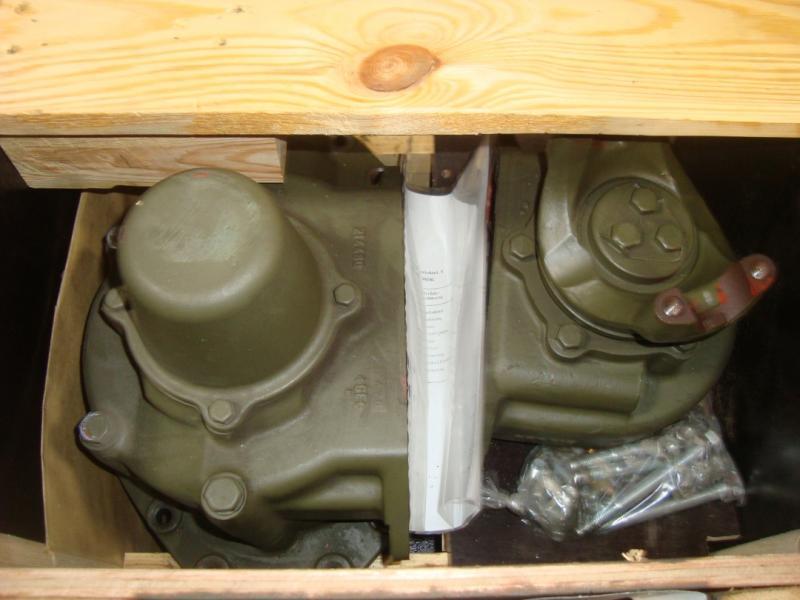 Axelväxel scania tgb 40 o 45 med vidaregång för 6 hjulsdrivna tgb 40 o 45