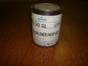 Färg !  Orginal schabloneringsfärg  GUL 1L