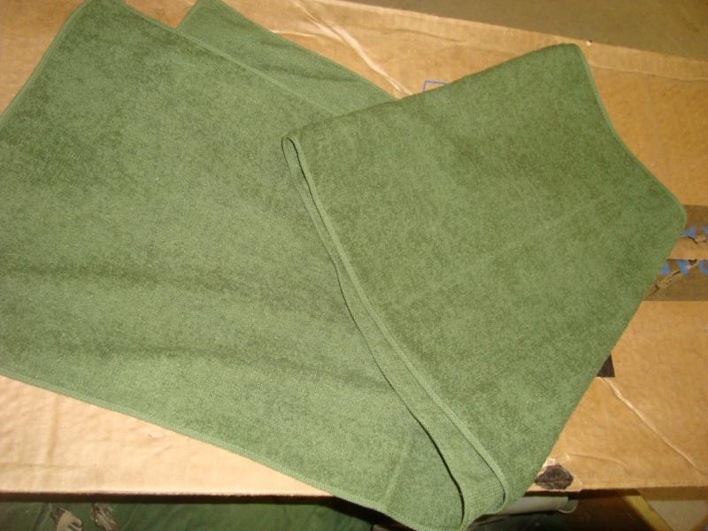 Kombinerad halsduk/handduk  Frotte!