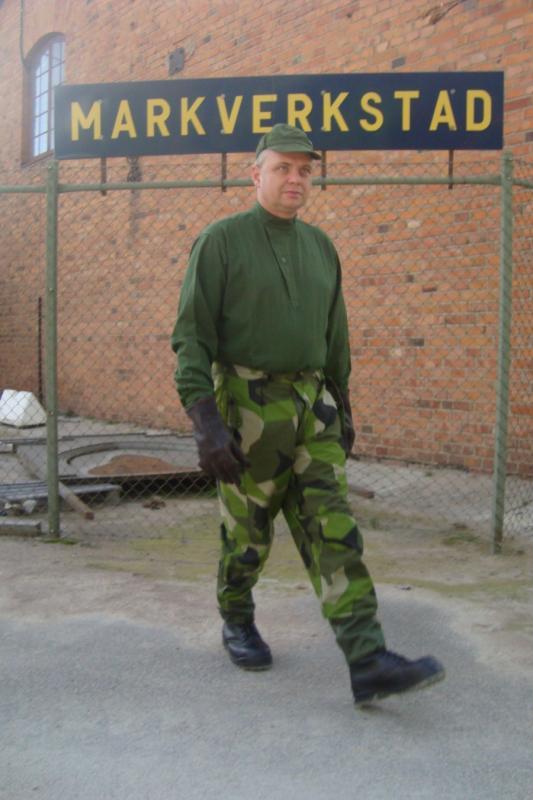 Militärskjorta m-55 Storlek: S