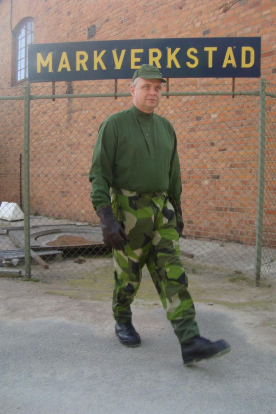 Militärskjorta m 55 Storlek: S