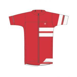 Bontrager Circuit Jersey Röd/Vit