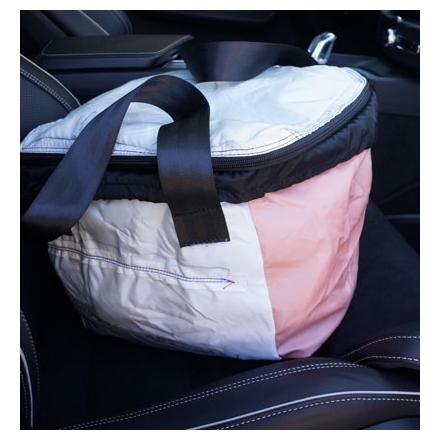 Väska Airbag för cykelkorgen Favorit
