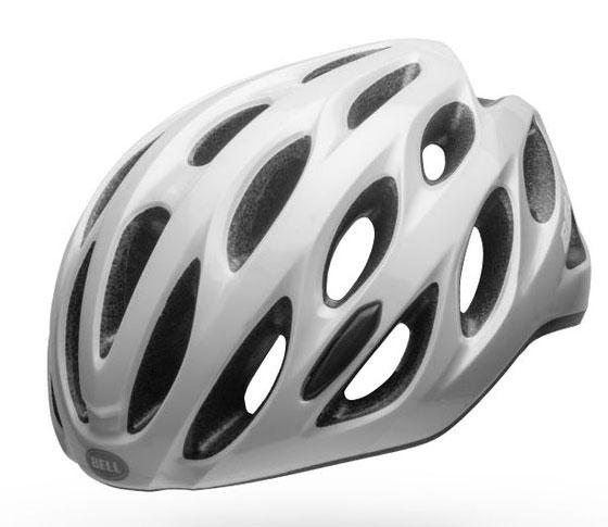 Bell Draft Mips Vit/Silver 54-61 cm