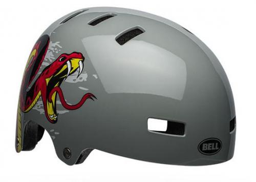 Bell Span Dark Grey/Red Viper