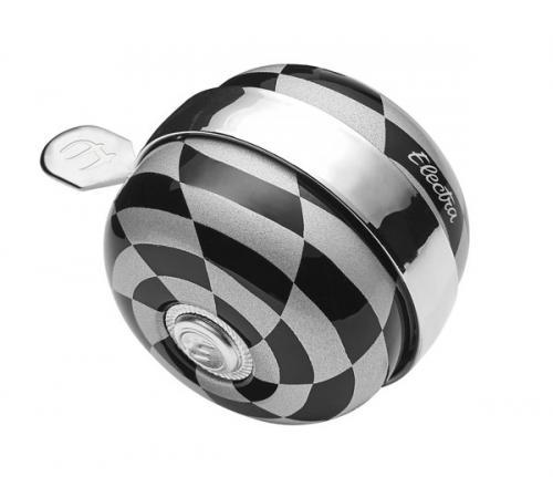 Ringklocka Electra Checkerboard Spinner Bell