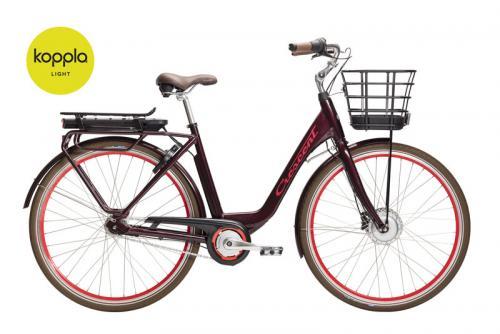 Crescent Elcykel Elina 7 växlar Bordeaux