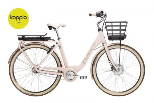 Crescent Elcykel Elina 7 växlar Rosa