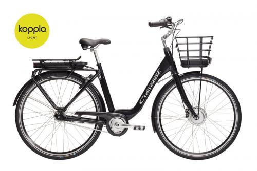 Crescent Elcykel Elina 7 växlar Svart