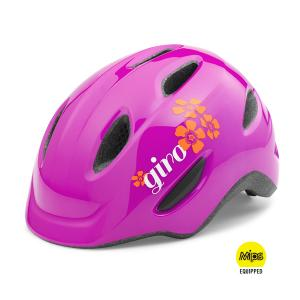 Giro Scamp Magenta/flower Mips