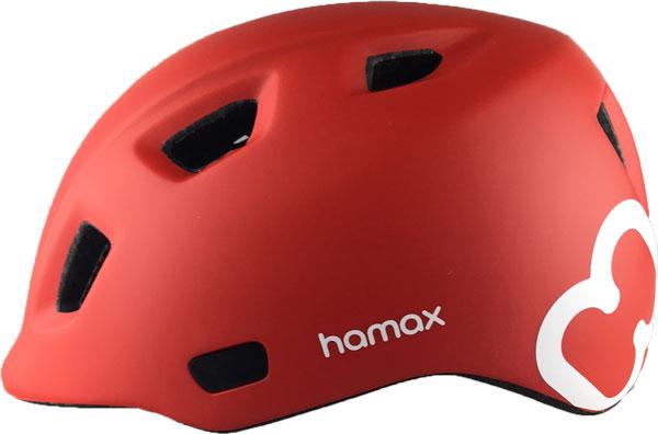 Hamax Thundercap barnhjälm Röd/Vit - EJ i originalkartong