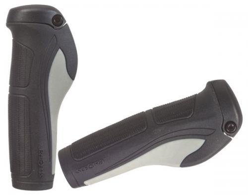 Handtag bio+ 130mm svart/grå