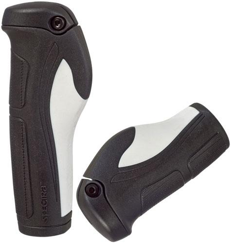 Handtag bio+ 130/90 mm svart/vit