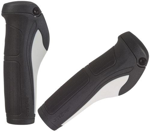 Handtag bio+ 130mm svart/vit