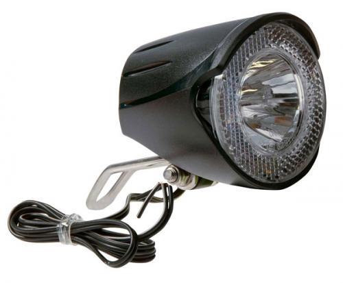 Framlampa UNION LED, dynamo, 20 LUX