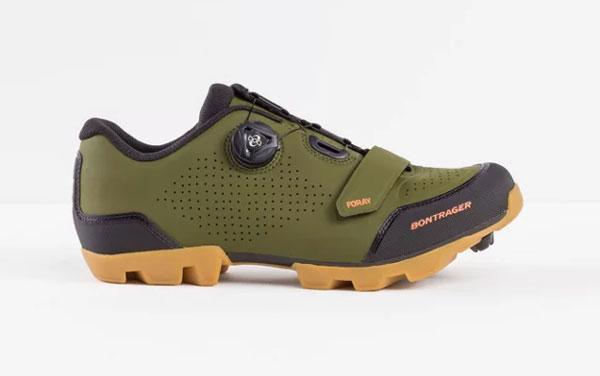 Bontrager Foray Olivegrön MTB-sko