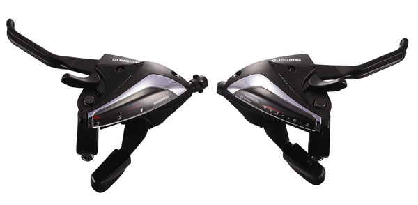 Broms/växelreglage Shimano Acera Svart 3x8